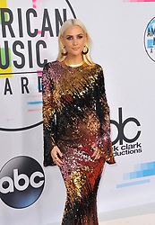 Ashlee Simpson at the 2017 American Music Awards held at the Microsoft Theater in Los Angeles, USA on November 19, 2017.