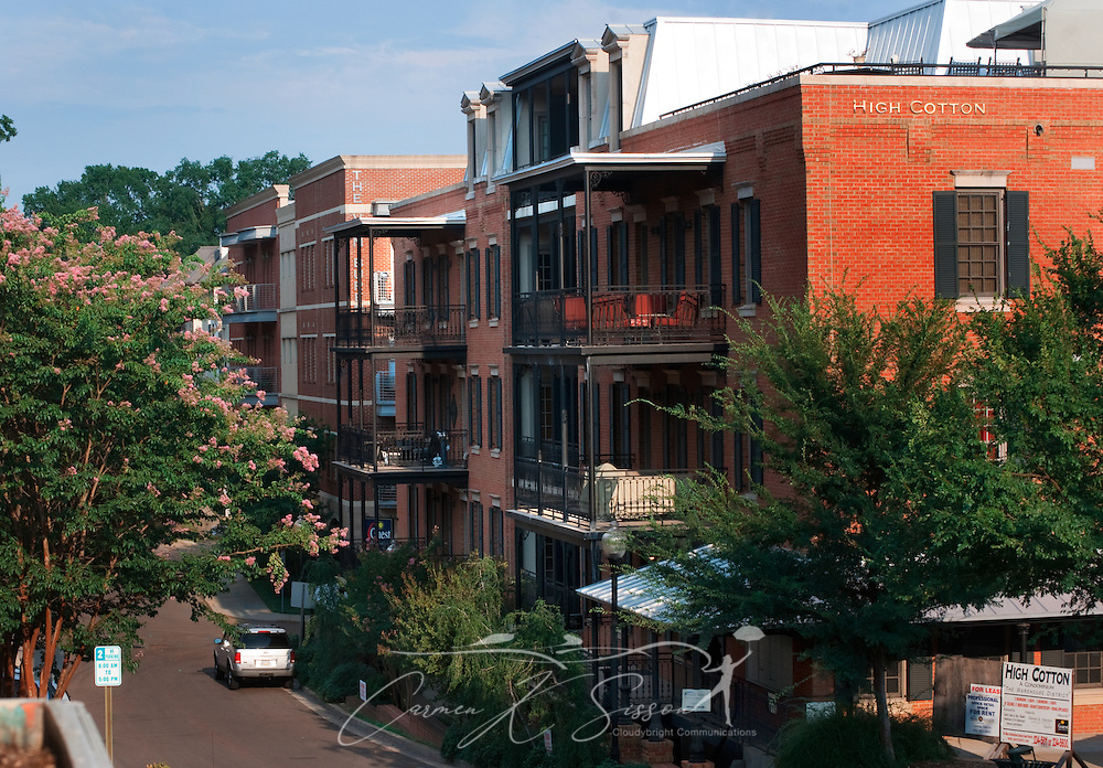 High Cotton, a luxury condominium community, is pictured, Aug. 6, 2011, in Oxford, Mississippi. (Photo by Carmen K. Sisson/Cloudybright)