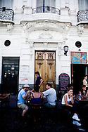 sunday market in SAN TELMO historical Tango area  Buenos Aires - Argentina  .///.marche du dimanche , quartier historique SAN TELMO  Buenos Aires - Argentine .///.BUAIR011