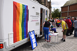 City Reach Health Services at Pride 2017, Norwich UK, 29 July 2017