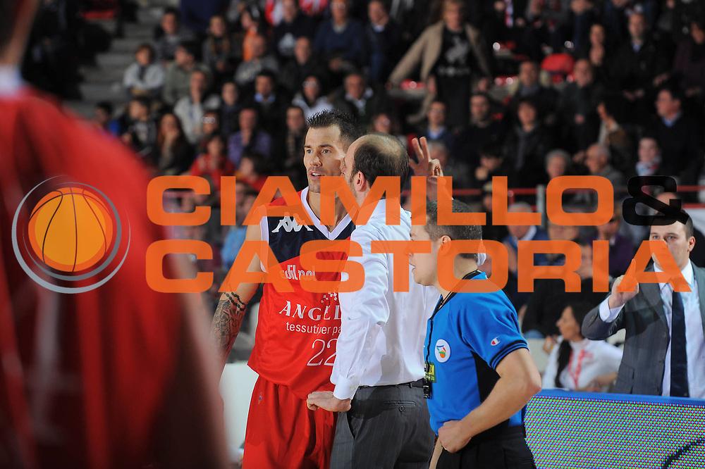 DESCRIZIONE : Varese Lega A 2010-11 Cimberio Varese Angelico Biella<br /> GIOCATORE : Coach Massimo Cancellieri Marc Salyers<br /> SQUADRA : Angelico Biella<br /> EVENTO : Campionato Lega A 2010-2011<br /> GARA : Cimberio Varese Angelico Biella<br /> DATA : 02/01/2011<br /> CATEGORIA : Ritratto<br /> SPORT : Pallacanestro<br /> AUTORE : Agenzia Ciamillo-Castoria/A.Dealberto<br /> Galleria : Lega Basket A 2010-2011<br /> Fotonotizia : Varese Lega A 2010-11Cimberio Varese Angelico Biella<br /> Predefinita :