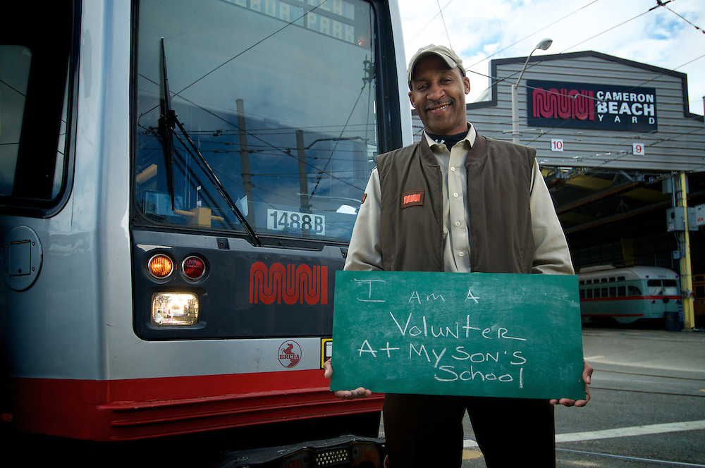 David Gunther, Green Division Operator | I am a Volunteer at my Son's School | I am Muni.