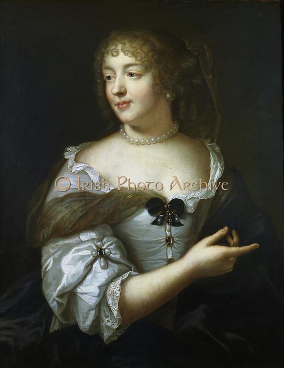 Madame de Sevigne (1626-1696). French courtier and letter writer. Portrait by Claude Lefebvre c1665. Carnavalet, Paris.