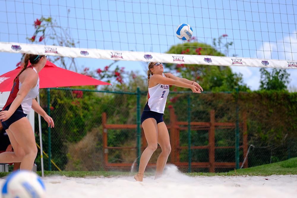 2017 FAU Beach Volleyball vs Webber International