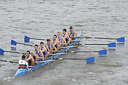 Chiswick, London, GREAT BRITAIN,  Astillero SPAIN, starting the the race, looking from Chiswick Bridge. 2011 Head of the River Race. Mortlake to Putney,  Championship Course River Thames on Saturday  02/04/2011  [Mandatory Credit, Peter Spurrier/Intersport-images]