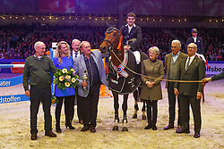 Houwen Kristian (NED) - Cidane<br /> KWPN Stallion Selection - 's Hertogenbosch 2014<br /> © Dirk Caremans