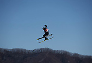 PYEONGCHANG-GUN, SOUTH KOREA - FEBRUARY 17: Emma Dahlstrom of Sweden during the Womens Slopestyle Freestyle Skiing on day eight of the PyeongChang 2018 Winter Olympic Games at Phoenix Snow Park on February 17, 2018 in Pyeongchang-gun, South Korea. Photo by Nils Petter Nilsson/Ombrello               ***BETALBILD***