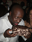 **EXCLUSIVE**.Wyclef Jean celebrates his Birthday with friends at PM Lounge after performing at The Gold Heart Ball for Happy Hearts Benefit Event..New York City, NY, USA .Wednesday, October 10, 2007.Photo By Selma Fonseca/ Celebrityvibe.To license this image call (212) 410 5354 or;.Email: celebrityvibe@gmail.com; .Website: www.celebrityvibe.com .