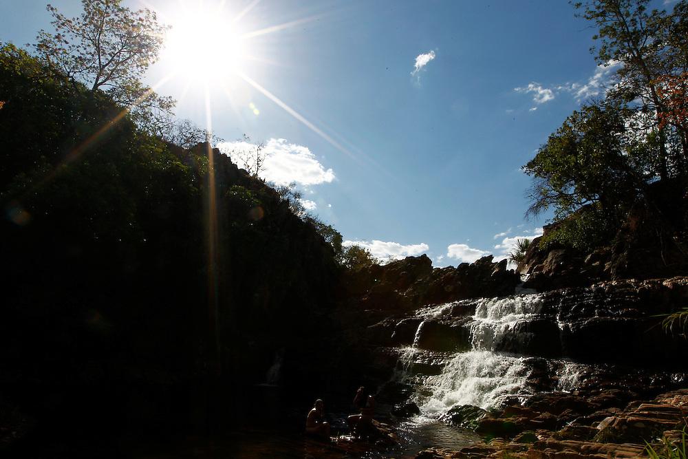 Pirenopolis_GO, Brasil.<br /> <br /> Cachoeira do Coqueiro em Pirenopolis, Goias.<br /> <br /> Coqueiro waterfall in Pirenopolis, Goias.<br /> <br /> Foto: MARCUS DESIMONI / NITRO
