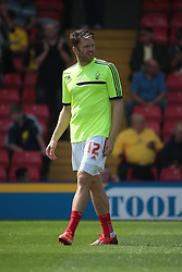 Nottingham Forest's Jamie Mackie  - Photo mandatory by-line: Nigel Pitts-Drake/JMP - Tel: Mobile: 07966 386802 25/08/2013 - SPORT - FOOTBALL -Vicarage Road Stadium - Watford -  Watford v Nottingham Forest - Sky Bet Championship