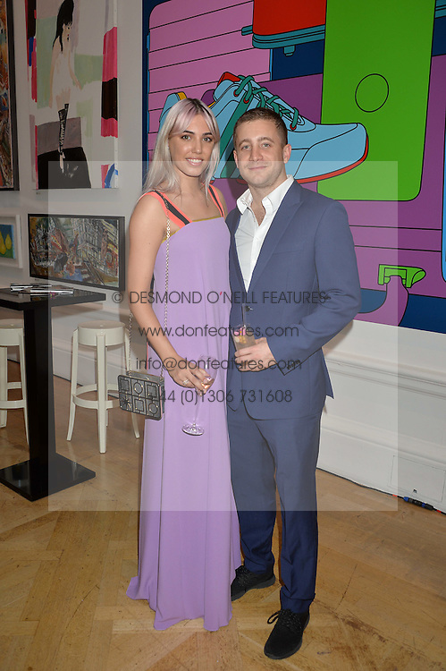 AMBER LE BON and TYRONE WOOD at the Royal Academy of Arts Summer Exhibition Preview Party at The Royal Academy of Arts, Burlington House, Piccadilly, London on 7th June 2016.