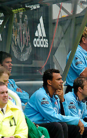 Photo. Jed Wee, Digitalsport<br /> Feyenoord Rotterdam v Sporting Lisbon, Newcastle Gateshead Cup, 31/07/2004.<br /> Feyenoord manager Ruud Gullit returns to his old stomping ground.