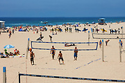 Beach Volleyball Courts Huntington Beach California
