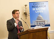 Rep. Chuck Fleischmann (R-TN) speaks during the Hill Day reception held at Rayburn House Office Building in Washington, DC, on Wednesday, May 11, 2016. The American Association for Cancer Research (AACR), the Association of American Cancer Institutes (AACI), and the American Society of Clinical Oncology (ASCO) honored U.S. Representatives Kathy Castor (D-Fla.) and Chuck Fleischmann (R-Tenn.) for their outstanding leadership on behalf of cancer research during the reception. (Alan Lessig/)