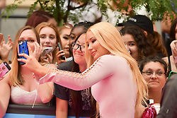 June 18, 2017 - Toronto, Ontario, Canada - IGGY AZALEA arrives at the 2017 iHeartRADIO MuchMusic Video Awards at MuchMusic HQ on June 18, 2017 in Toronto (Credit Image: © Igor Vidyashev via ZUMA Wire)