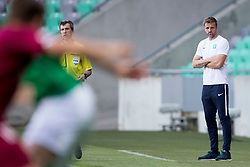 Igor Biscan, head coach of NK Olimpija Ljubljana during football match between NK Olimpija Ljubljana and NK Triglav Kranj in Round #31 of Prva liga Telekom Slovenije 2017/18, on May 6, 2018 in SRC Stozice, Ljubljana, Slovenia. Photo by Urban Urbanc / Sportida