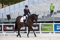 Natasha Baker, (GBR), Cabral - Individual Test Grade II Para Dressage - Alltech FEI World Equestrian Games™ 2014 - Normandy, France.<br /> © Hippo Foto Team - Jon Stroud <br /> 25/06/14