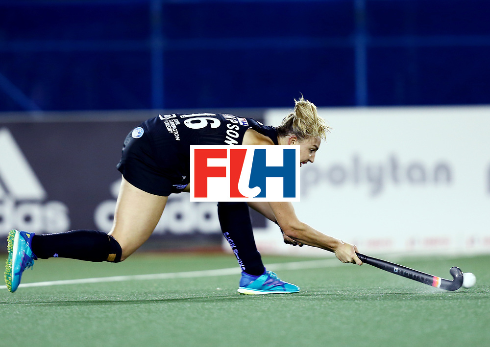 New Zealand, Auckland - 24/11/17  <br /> Sentinel Homes Women&rsquo;s Hockey World League Final<br /> Harbour Hockey Stadium<br /> Copyrigth: Worldsportpics, Rodrigo Jaramillo<br /> Match ID: 10310 - ENG-NZL<br /> Photo: (16) THOMPSON Liz