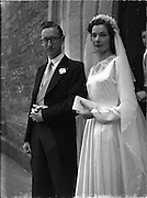 16/9/1952<br /> 9/16/1952<br /> 16 September 1952<br /> <br /> Wedding of Mr. Kevin J Dermedy and Ms. Nuala Sheerin at St Pappins Ballymun