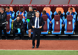 23 April 2017 - EFL Championship Football - Aston Villa v Birmingham City - Birmingham City interim manager Harry Redknapp takes his place in the dug out - Photo: Paul Roberts / Offside