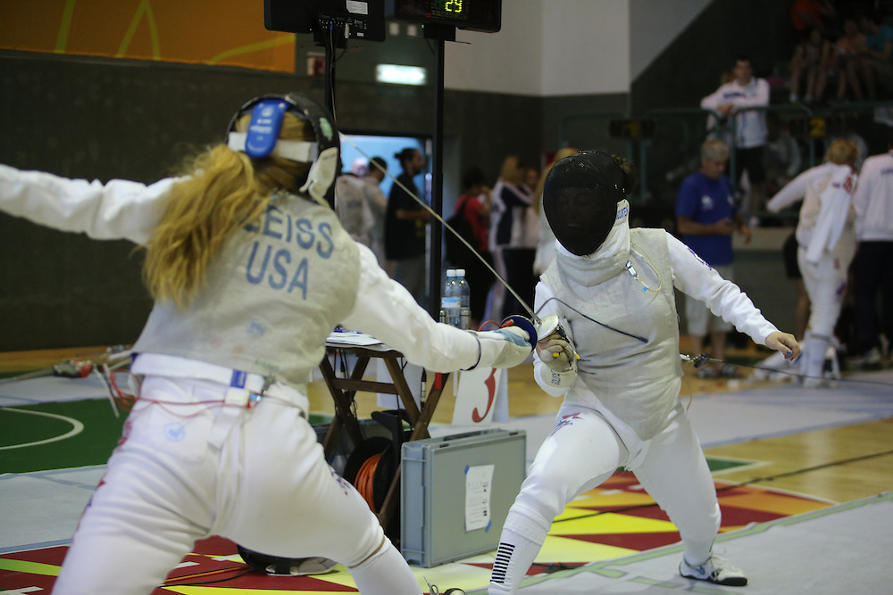 Maccabiah Games 21.07.2013<br /> Fencing <br /> <br /> Fencing is the sport of fighting with swords . The most common version of fencing today, also called olympic fencing or competitive fencing.<br />  <br /> <br /> www.Giladka.com