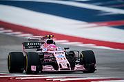 October 19-22, 2017: United States Grand Prix. Esteban Ocon (FRA), Sahara Force India, VJM10