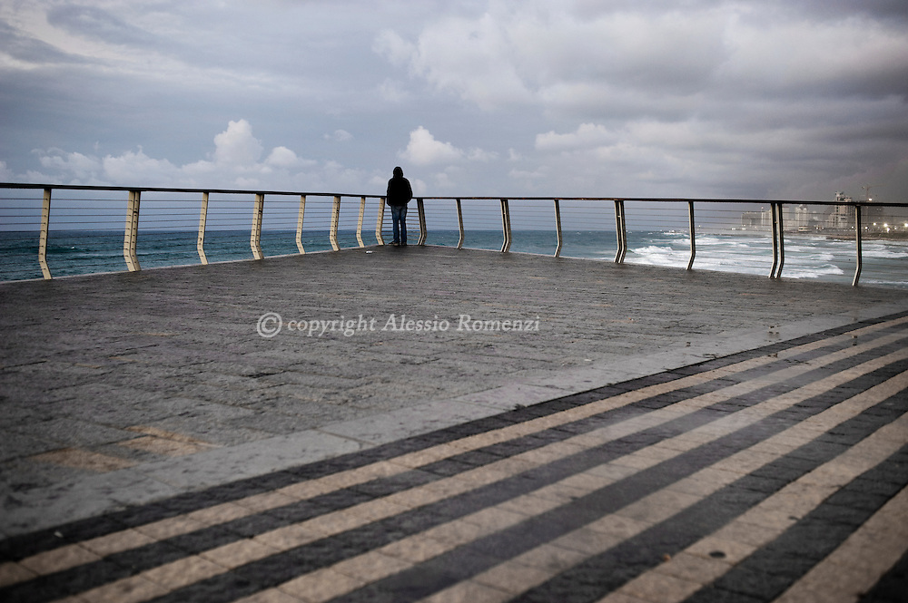 Israel, Tel Aviv, on January 2, 2010 © ALESSIO ROMENZI