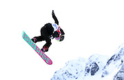 SOCHI, RUSSIA - FEBRUARY 09:  Steffi Luxton of New Zealand competes during the Snowboard Women's Slopestyle Semi finals during day 2 of the Sochi 2014 Winter Olympics at Rosa Khutor Extreme Park on February 9, 2014 in Sochi, Russia.Photo: Ian MacNicol/www.photosport.co.nz