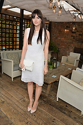 LILAH PARSONS at the Warner Music Group Summer Party in association with British GQ held at Shoreditch House, Ebor Street, London E2 on 8th July 2015.