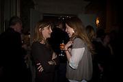 JEMIMA KHAN AND DAISY DONOVAN, ' Top Tips for Girls' Kate Reardon - book launch party<br />Claridge's Hotel, Brook Street, London,28 January 2008. -DO NOT ARCHIVE-© Copyright Photograph by Dafydd Jones. 248 Clapham Rd. London SW9 0PZ. Tel 0207 820 0771. www.dafjones.com.