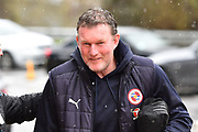 Reading goalkeeping coach Dave Beasant arriving at the Madejski Stadium before the EFL Sky Bet Championship match between Reading and Queens Park Rangers at the Madejski Stadium, Reading, England on 30 March 2018. Picture by Graham Hunt.