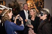 ROWAN PELLING; HENRY SOMERSET, DUKE OF BEAUFORT; GEORGIA POWELL; DAWKA PELLING, , Sotheby's Erotic sale cocktail party, Sothebys. London. 14 February 2018