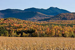 Mount Mansfield in Vermont's Green Mountains.  Fall.  Jeffersonville, Vermont.