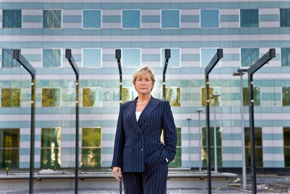 Anneke de Vries, CEO van ING Real Estate in Den Haag, The Netherlands on 09 October, 2008.  (Photo by Michel de Groot)