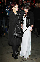 LONDON - DECEMBER 14:   Daisy Lowe and Pearl Lowe attend the English National Ballet Christmas Party at St Martins Lane Hotel, London, UK on December 14, 2011. (Photo by Richard Goldschmidt)