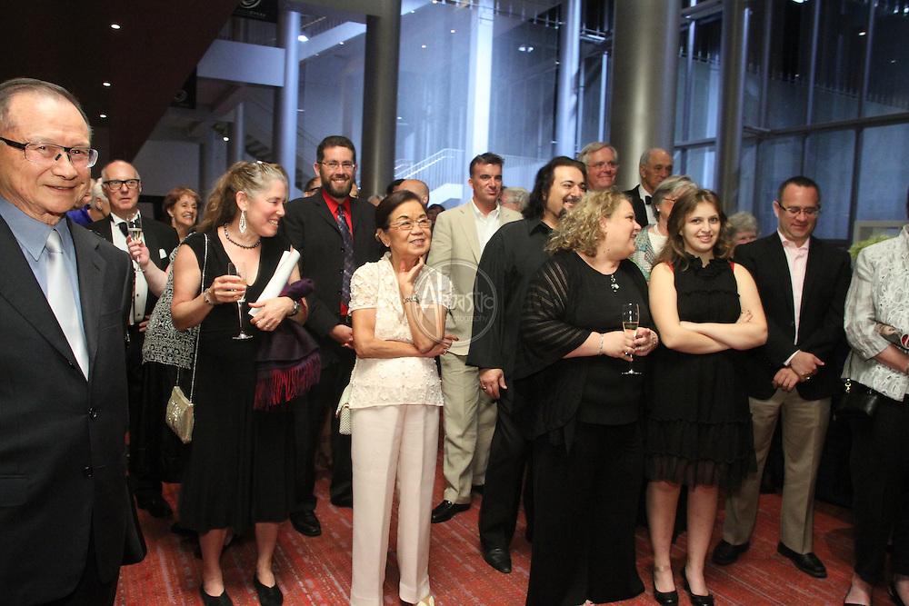 Seattle Opera Turandot Opening Night, 2012.  Celebration in Grand Lobby.
