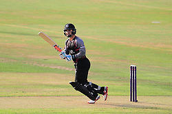 Johann Myburgh of Somerset in action.  - Mandatory by-line: Alex Davidson/JMP - 22/07/2016 - CRICKET - Th SSE Swalec Stadium - Cardiff, United Kingdom - Glamorgan v Somerset - NatWest T20 Blast