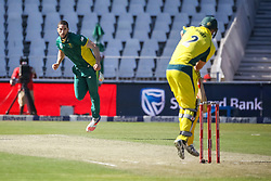 Wayne Parnell of SA during the 2nd ODI match between South Africa and Australia held at The Wanderers Stadium in Johannesburg, Gauteng, South Africa on the 2nd October  2016<br /> <br /> Photo by Dominic Barnardt/ RealTime Images