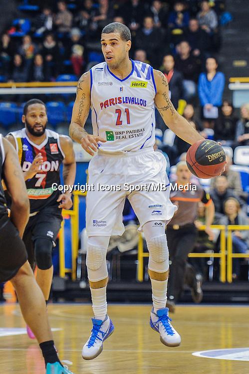 Blake Schilb - 23.01.2015 - Paris Levallois / Dijon - 18eme journee de Pro A<br /> Photo : Anthony Dibon / Icon Sport