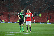 Wayne Rooney of Manchester United leaves the pitch during the Barclays Premier League match between Manchester United and Stoke City at Old Trafford, Manchester, England on 2 February 2016. Photo by Phil Duncan.