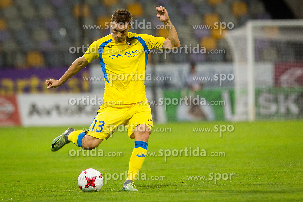 zan zuzek of NK Domzale during football match between NK Maribor and NK Domzale in 5th Round of Prva liga Telekom Slovenije 2017/18, on August 11, 2017 in Ljudski vrt, Maribor, Slovenia. Photo by Ziga Zupan / Sportida
