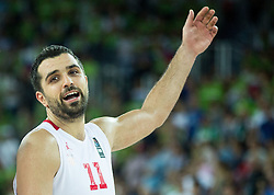 Krunoslav Simon of Croatia during basketball match between Croatia and Slovenia at Day 1 in Group C of FIBA Europe Eurobasket 2015, on September 5, 2015, in Arena Zagreb, Croatia. Photo by Vid Ponikvar / Sportida