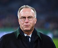 Fussball  DFB Pokal  Achtelfinale  2017/2018   FC Bayern Muenchen - Borussia Dortmund        20.12.2017 Vorstandsvorsitzender Karl Heinz Rummenigge (FC Bayern Muenchen)