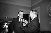 1966 - Taoiseach Sean Lemass receives 1916 Survivor Medal