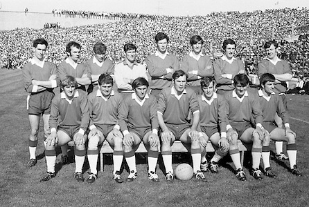 Senior Football Final, Kerry v Meath.  Meath Team..27.09.1970