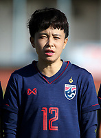 International Women's Friendly Matchs 2019 / <br /> Womens's Cyprus Cup Tournament 2019 - <br /> Nigeria v Thailand 3-0 ( Tasos Marko Stadium - Paralimni,Cyprus ) - <br /> Rattikan Thongsombut of Thailand