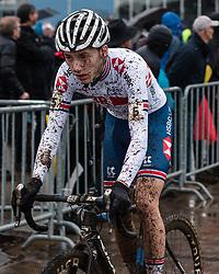 KIELY Joe (GBR) during Men Junior race, 2020 UCI Cyclo-cross Worlds Dübendorf, Switzerland, 2 February 2020. Photo by Pim Nijland / Peloton Photos | All photos usage must carry mandatory copyright credit (Peloton Photos | Pim Nijland)