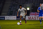 Ellis Harrison of Portsmouth in action during the EFL Sky Bet League 1 match between Gillingham and Portsmouth at the MEMS Priestfield Stadium, Gillingham, England on 1 January 2020.