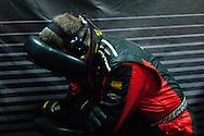 APR crew member sleeping
