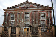 Old theater in Gibara, Holguin, Cuba.
